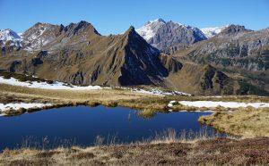 Freschluakopf mit Schesaplana (2964 m)