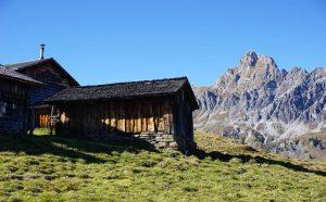 Alpe Platzis mit Zimba